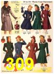 1940 Sears Fall Winter Catalog, Page 309