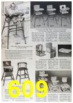 1964 Sears Fall Winter Catalog, Page 609