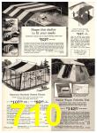 1969 Sears Spring Summer Catalog, Page 710