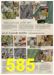 1959 Sears Spring Summer Catalog, Page 585