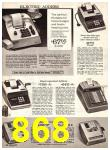 1969 Sears Fall Winter Catalog, Page 868