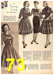 1960 Sears Fall Winter Catalog, Page 73