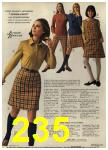 1968 Sears Fall Winter Catalog, Page 235