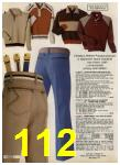1980 Sears Fall Winter Catalog, Page 112