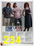 1986 Sears Fall Winter Catalog, Page 234