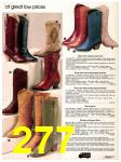 1982 Sears Fall Winter Catalog, Page 277