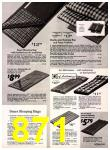 1972 Sears Fall Winter Catalog, Page 871
