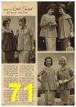 1961 Sears Spring Summer Catalog, Page 71