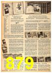 1962 Sears Fall Winter Catalog, Page 879