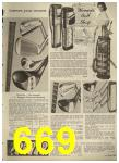 1960 Sears Spring Summer Catalog, Page 669