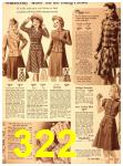 1940 Sears Fall Winter Catalog, Page 322