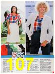 1986 Sears Spring Summer Catalog, Page 107