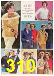 1962 Sears Fall Winter Catalog, Page 310