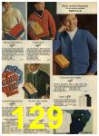 1968 Sears Fall Winter Catalog, Page 129