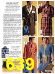 1971 Sears Fall Winter Catalog, Page 639