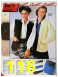 1986 Sears Fall Winter Catalog, Page 116