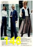 1981 Montgomery Ward Spring Summer Catalog, Page 148