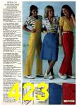 1980 Sears Spring Summer Catalog, Page 423