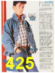 1987 Sears Fall Winter Catalog, Page 425
