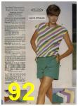 1984 Sears Spring Summer Catalog, Page 92