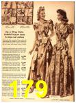 1942 Sears Spring Summer Catalog, Page 179
