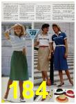 1985 Sears Spring Summer Catalog, Page 184
