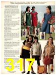 1973 Sears Fall Winter Catalog, Page 317