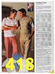 1986 Sears Spring Summer Catalog, Page 418