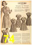 1962 Sears Fall Winter Catalog, Page 74
