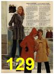 1972 Sears Fall Winter Catalog, Page 129