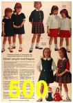 1963 Sears Fall Winter Catalog, Page 500