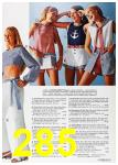 1972 Sears Spring Summer Catalog, Page 285