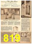 1956 Sears Fall Winter Catalog, Page 819