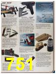 1986 Sears Fall Winter Catalog, Page 751