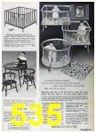1967 Sears Spring Summer Catalog, Page 535