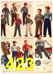 1958 Sears Fall Winter Catalog, Page 423