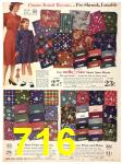 1940 Sears Fall Winter Catalog, Page 716
