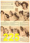 1949 Sears Spring Summer Catalog, Page 225