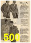 1960 Sears Spring Summer Catalog, Page 500