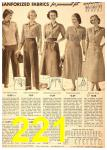 1949 Sears Spring Summer Catalog, Page 221