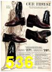 1974 Sears Fall Winter Catalog, Page 536