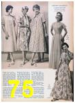1957 Sears Spring Summer Catalog, Page 75