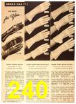 1949 Sears Spring Summer Catalog, Page 240