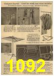 1961 Sears Spring Summer Catalog, Page 1092
