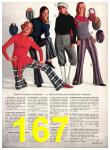 1971 Sears Fall Winter Catalog, Page 167