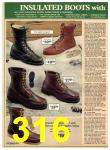 1977 Sears Fall Winter Catalog, Page 316