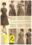 1962 Sears Fall Winter Catalog, Page 72
