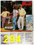 1986 Sears Spring Summer Catalog, Page 294