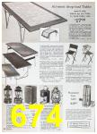 1967 Sears Spring Summer Catalog, Page 674