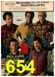 1977 Sears Fall Winter Catalog, Page 654
